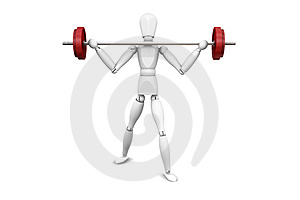 Weight lifter Free Stock Images