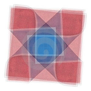 Quilt Fabric Square Pattern Royalty Free Stock Image - Image: 2719676