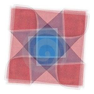 被子织品正方形模式 免版税库存图片 - 图片: 2719676