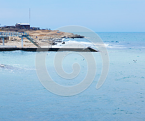 Landscape With The Sea Stock Photo - Image: 27103380