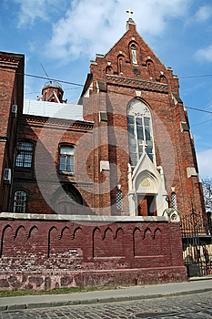 Church Of St. Clement In Lvov Royalty Free Stock Photography - Image: 27108517