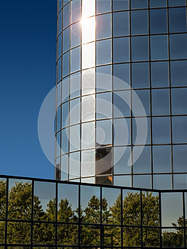 Modern building1 stock image. Image of business, mirroring - 27130625