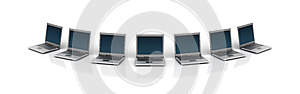 Laptops Stock Images - Image: 27142944