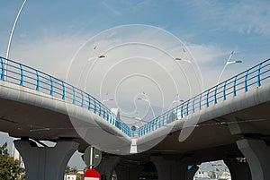 Modern Bridge Stock Photo - Image: 27145160