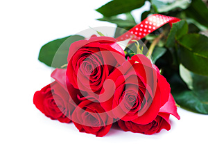Bouquet Of Red Roses Stock Image - Image: 27181991