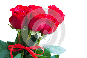 Bouquet Of Red Roses Stock Photo - Image: 27182000