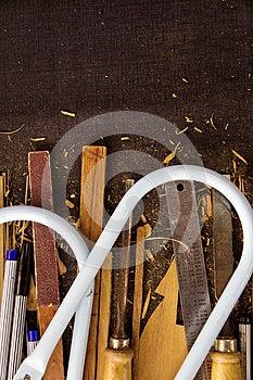 Wood Carving Tool Stock Photos - Image: 27187793