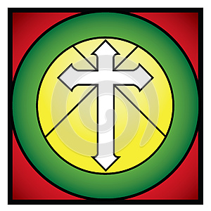 Christian Cross Rood Royalty Free Stock Images - Image: 27198099