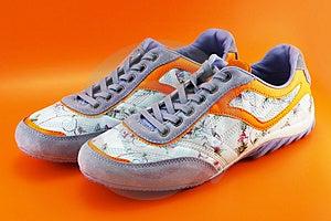 Woman Lifestyle Shoes Stock Photo - Image: 2720010
