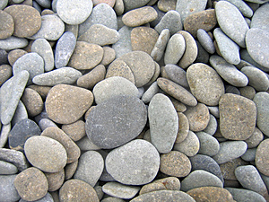 Pebbles on the beach stock image. Image of beach, texture - 2721411