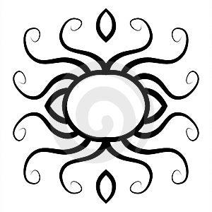 Diseño Decorativo 2 Del Elemento Imagen de archivo libre de regalías - Imagen: 2728536