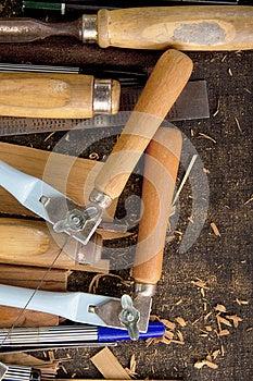 Tools-woodcraft Background Royalty Free Stock Images - Image: 27248179