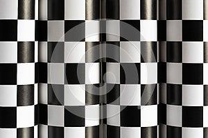 Fundo Checkered Imagens de Stock Royalty Free - Imagem: 27248269