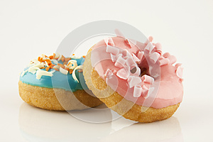Sweet Donuts Stock Images - Image: 27254254