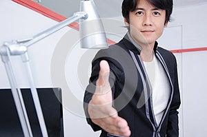 Business Man With You Stock Photos - Image: 27285873