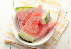 Sliced Watermelon Royalty Free Stock Photography - Image: 27299237