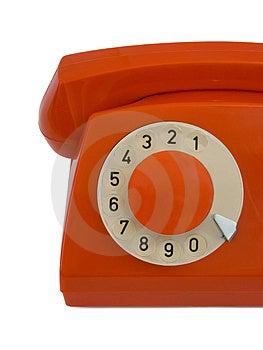 Retro Telephone, Close-up Stock Photography - Image: 2735642