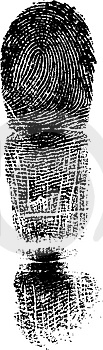 Full FingerPrint 1 Stock Image - Image: 2737531