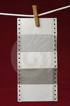 Perforation Paper Stock Photos - Image: 2737753