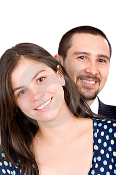 Young couple smiling Free Stock Photography