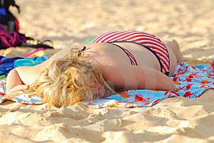 Sun Tan Stock Photos - Image: 2739373