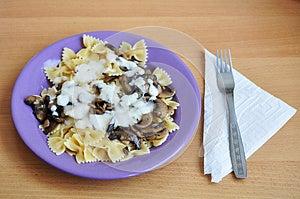 Mushroom Sauce Royalty Free Stock Photography - Image: 27353947