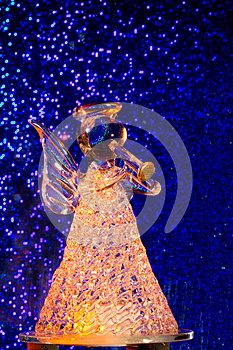 Orange Glass Angel Royalty Free Stock Image - Image: 27399946