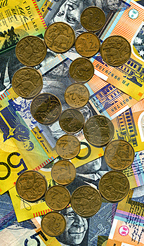 Golden Dollar Royalty Free Stock Image - Image: 2740616
