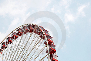 Large Ferris Wheel Royalty Free Stock Image - Image: 2740916