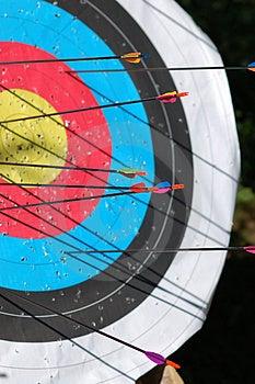 Arrows And Shadows Royalty Free Stock Photos - Image: 2742718