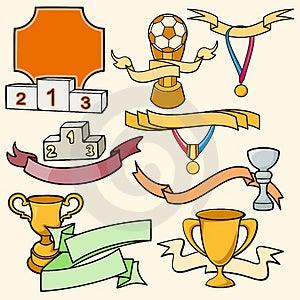 Série Do Molde Do Esporte Foto de Stock - Imagem: 2746430