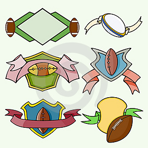 Серия шаблона спорта Стоковое Изображение RF - изображение: 2746506