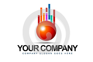 Business Sphere Logo Royalty Free Stock Photography - Image: 27438247