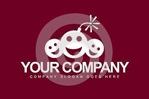 Smiley Faces Logo Stock Image - Image: 27438261