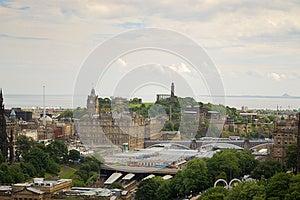 Het Panorama Van Edinburgh Royalty-vrije Stock Afbeelding - Afbeelding: 27444086