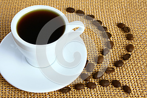 A Cup Of Coffee Stock Photography - Image: 27469842
