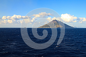 Stromboli Island Stock Photo - Image: 27479700