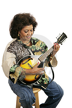 Играть мандолину Стоковая Фотография - изображение: 2751262