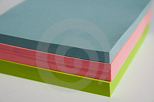 Pad Of Sticky Notes Royalty Free Stock Photo - Image: 2755995