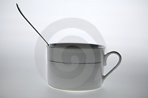 Coffee Mug With The Spoon Royalty Free Stock Photos - Image: 2757948