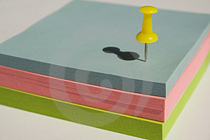 Pad Of Sticky Notes Royalty Free Stock Photo - Image: 2758875