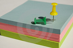 Pad Of Sticky Notes Royalty Free Stock Photo - Image: 2758885