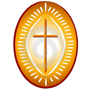 Gold Cross Christian Symbol Stock Images - Image: 2759964