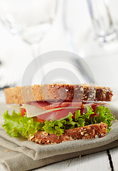 Fresh Deli Sandwich Royalty Free Stock Photography - Image: 27527307