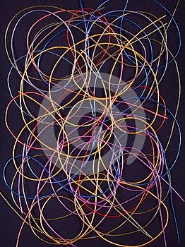 Cordas Coloridas Fotos de Stock Royalty Free - Imagem: 27571848