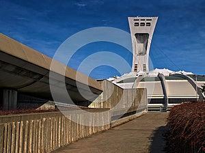 Olympic Stadium (Montreal) Royalty Free Stock Photos - Image: 27581158