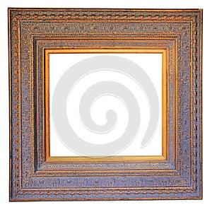 Vintage Wood Photo Frame Stock Photos - Image: 27592093