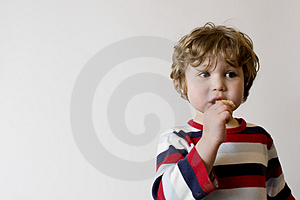Child Eating Free Stock Photo