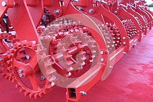 Strumentazione Agricola Fotografia Stock - Immagine: 27619482