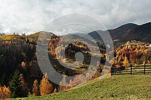 Landscape In Magura, Brasov Stock Photo - Image: 27663260